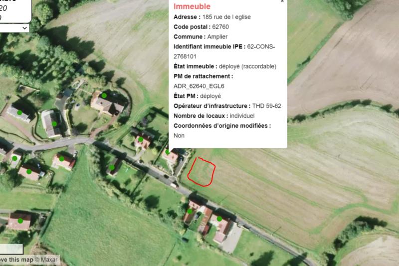 AXIONE  THD 59-62 205 RUE DE L'EGLISE 62760 AMPLIER 20511