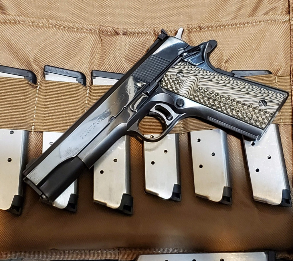 1963 Colt National Match/Shoot it or trade it? 20200310