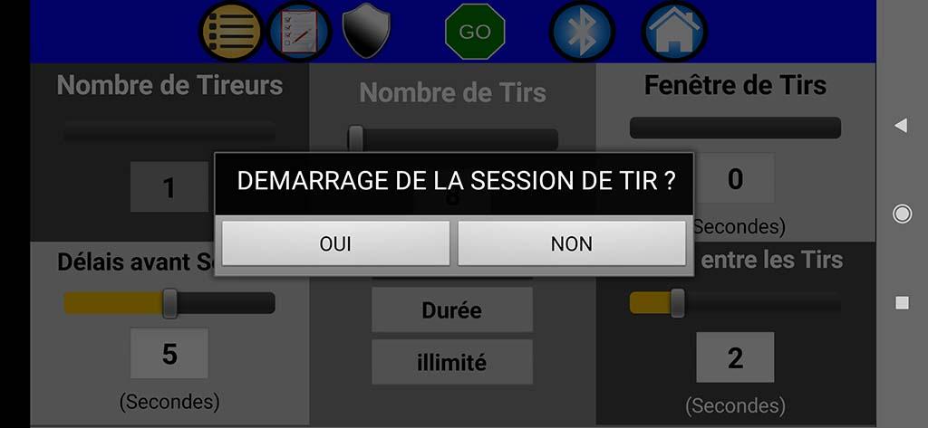 Cibles électroniques avec des Led et commandées par smarphone android 04-con10