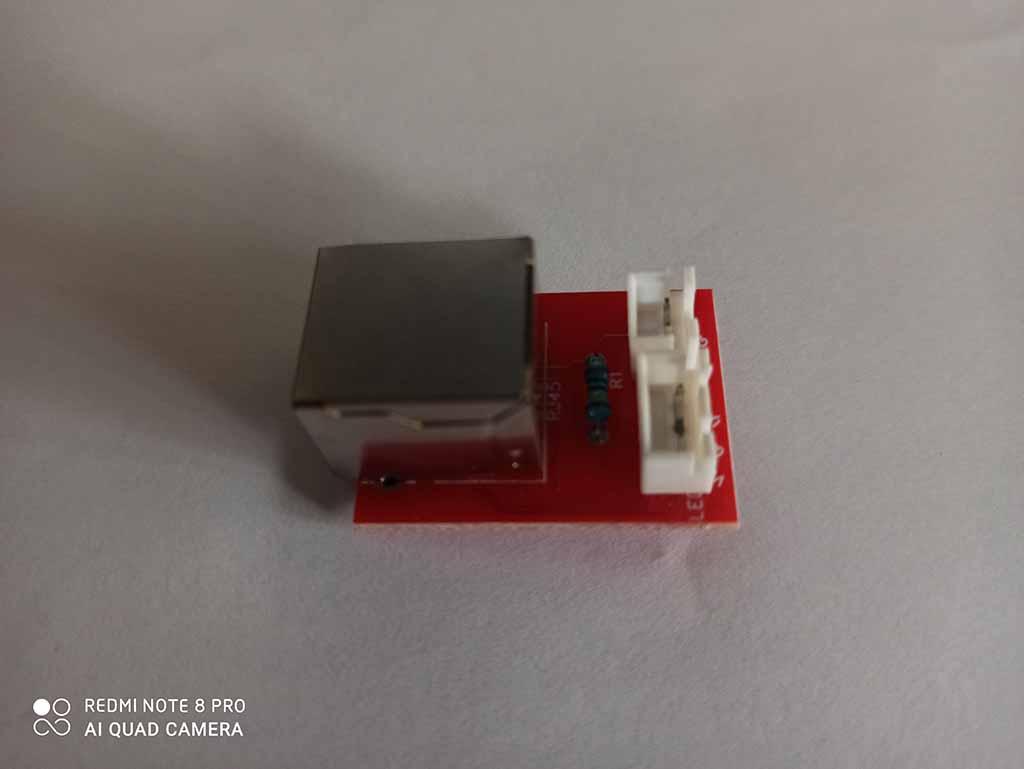 Cibles électroniques avec des Led et commandées par smarphone android Module11