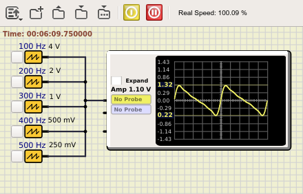Features for function generator Wavege10