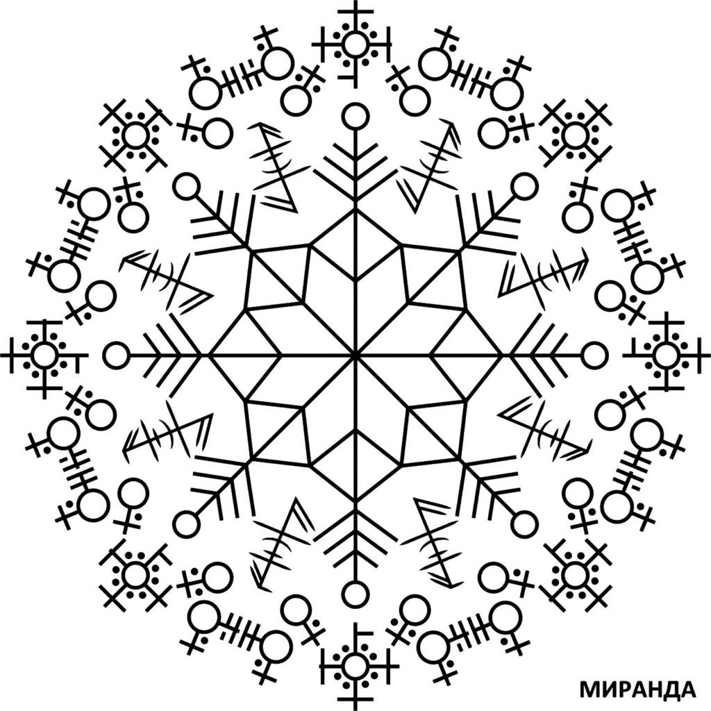 Снежинка-«ясновидец»(защита) A12
