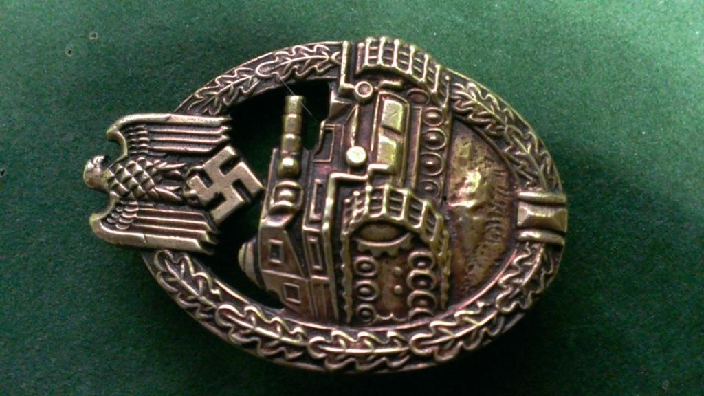 Panzerkampfabzeichen bronze Rodolf SOUVAL Wp_20100