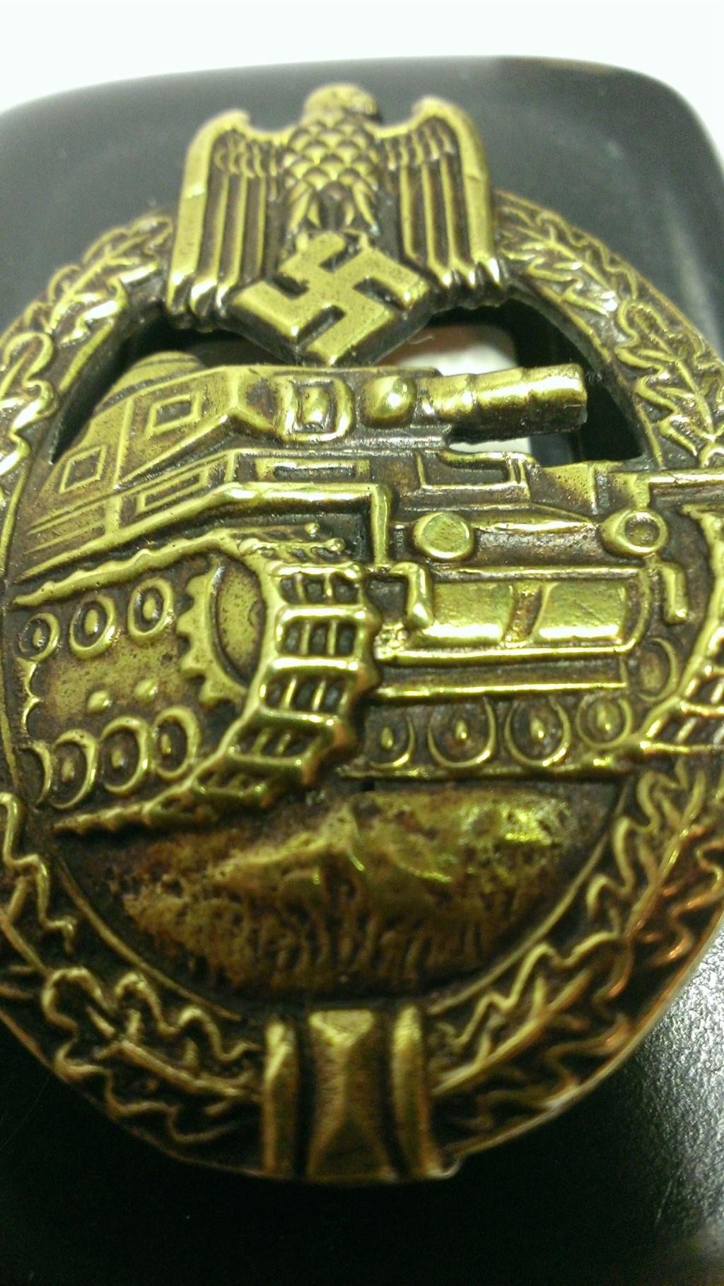 Panzerkampfabzeichen bronze Rodolf SOUVAL Wp_20101