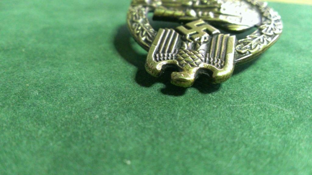 Panzerkampfabzeichen bronze Rodolf SOUVAL Wp_20104