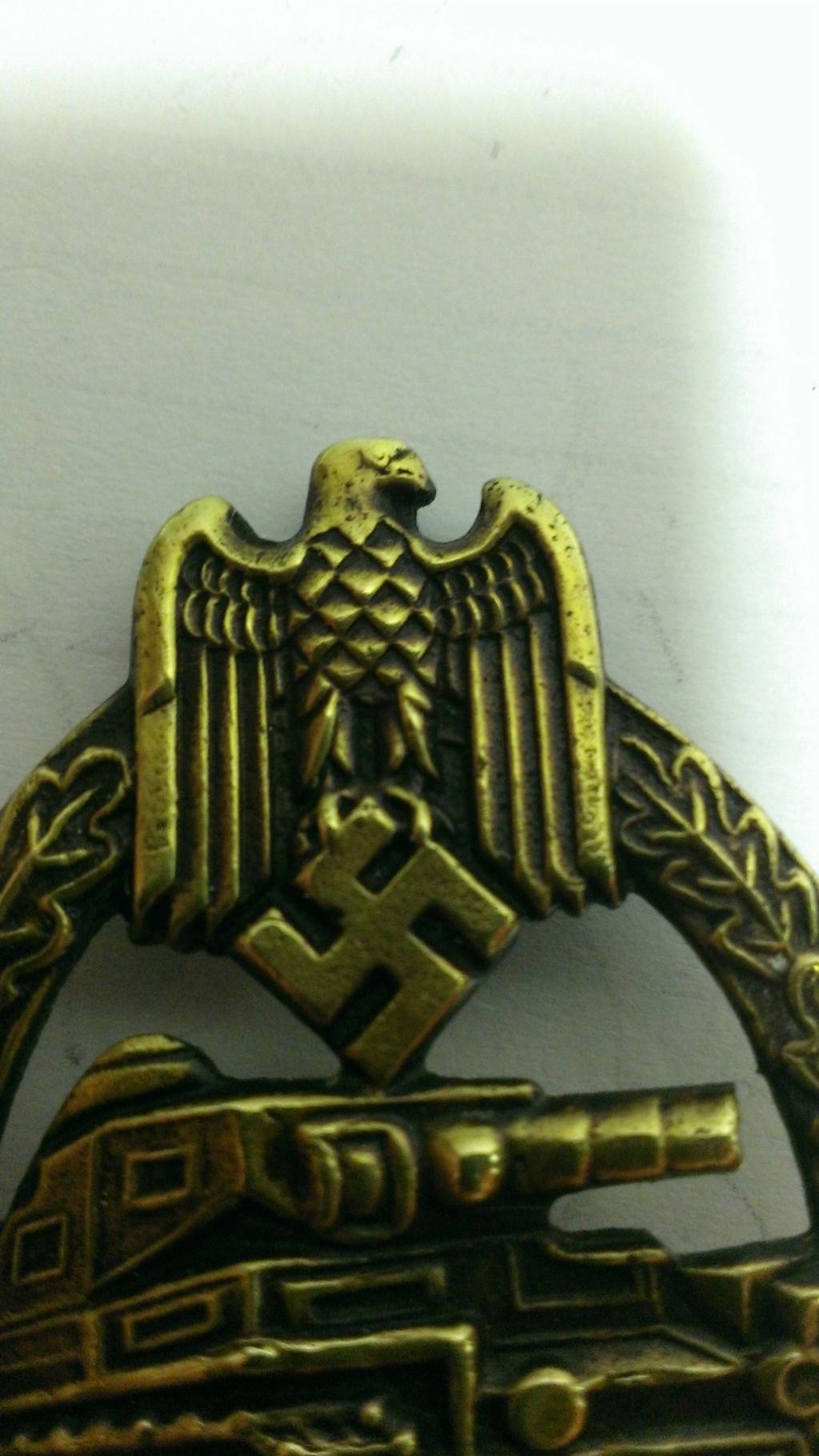 Panzerkampfabzeichen bronze Rodolf SOUVAL Wp_20105