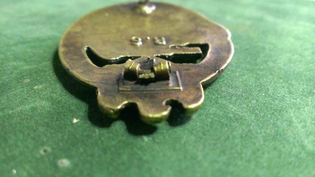Panzerkampfabzeichen bronze Rodolf SOUVAL Wp_20106