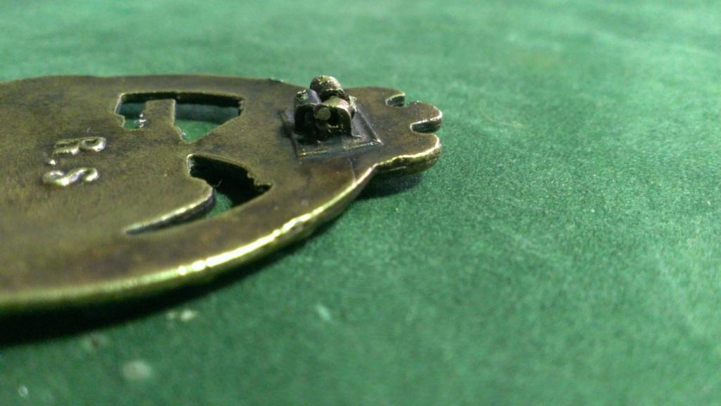 Panzerkampfabzeichen bronze Rodolf SOUVAL Wp_20107