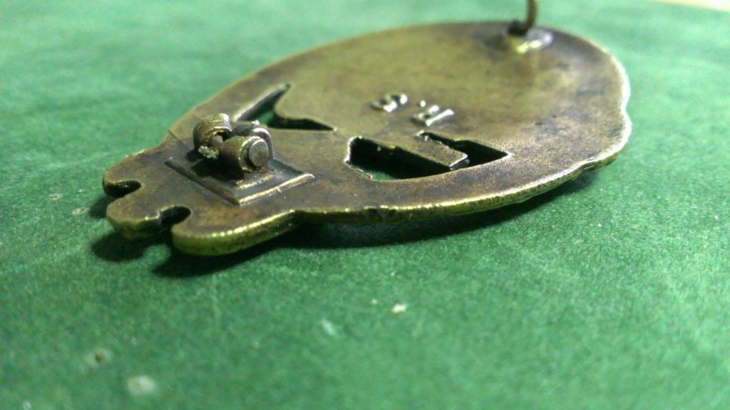 Panzerkampfabzeichen bronze Rodolf SOUVAL Wp_20108