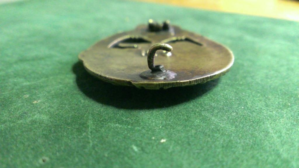 Panzerkampfabzeichen bronze Rodolf SOUVAL Wp_20109