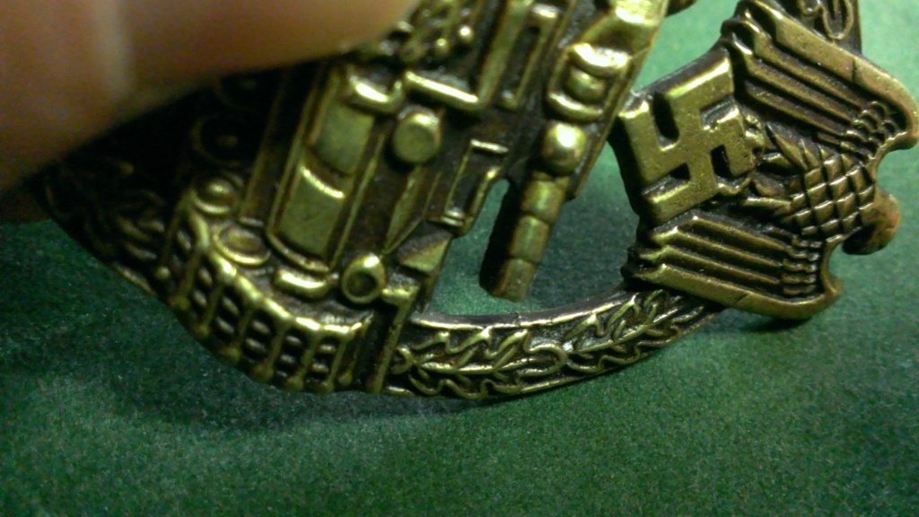 Panzerkampfabzeichen bronze Rodolf SOUVAL Wp_20111