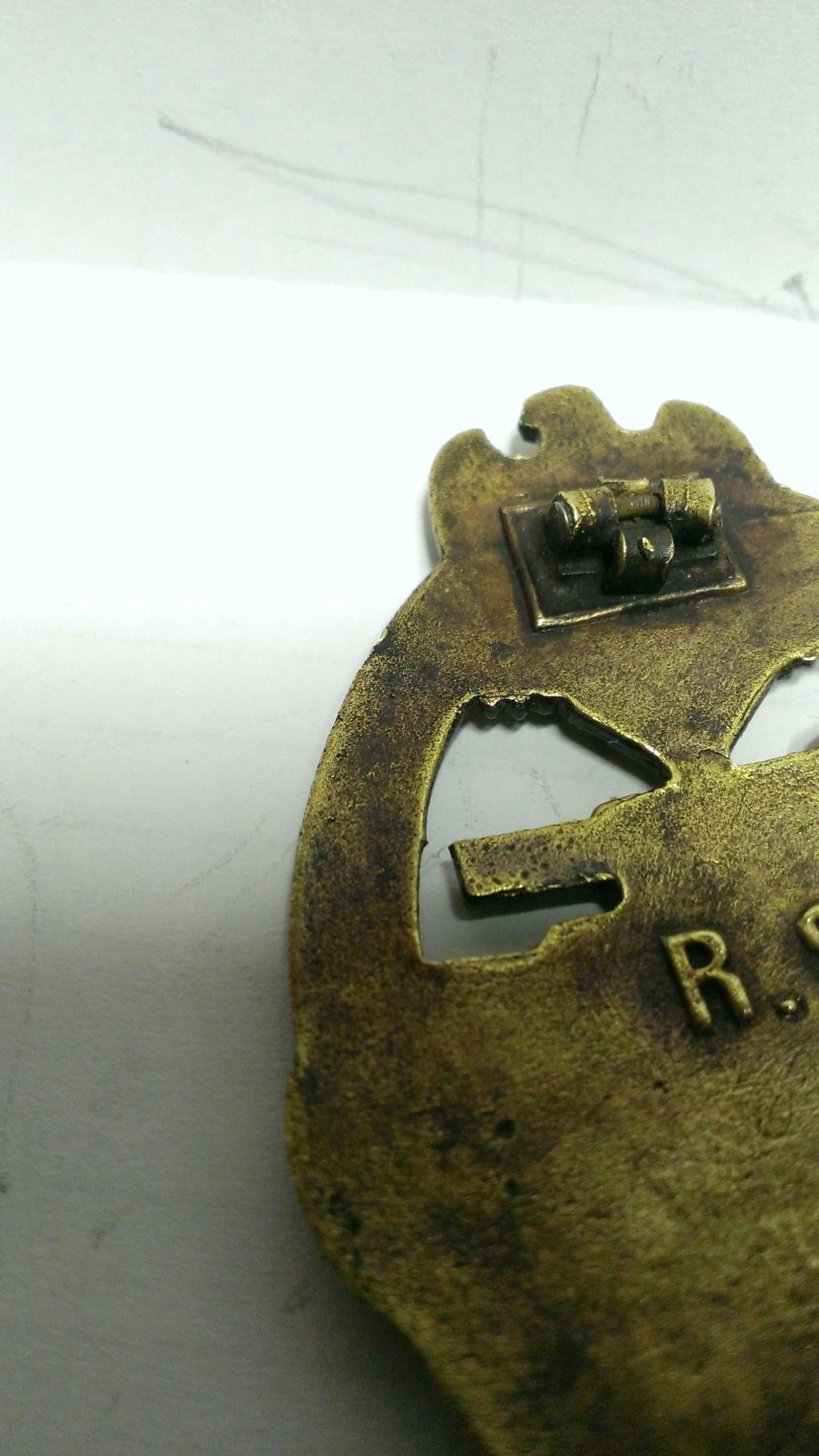 Panzerkampfabzeichen bronze Rodolf SOUVAL Wp_20112