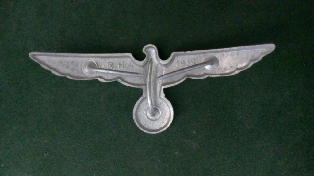 Aigles metalliques et cocardes de casquettes Heer WW2 - Authentification et prix Wp_20130