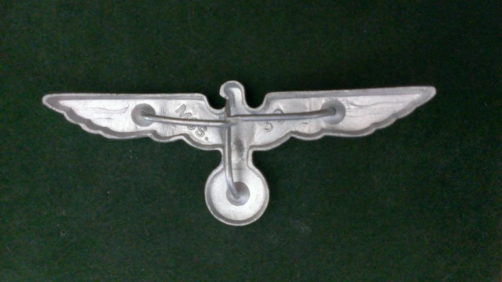 Aigles metalliques et cocardes de casquettes Heer WW2 - Authentification et prix Wp_20137