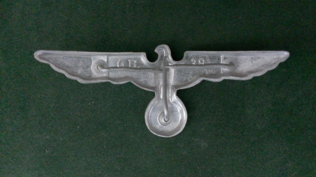 Aigles metalliques et cocardes de casquettes Heer WW2 - Authentification et prix Wp_20140
