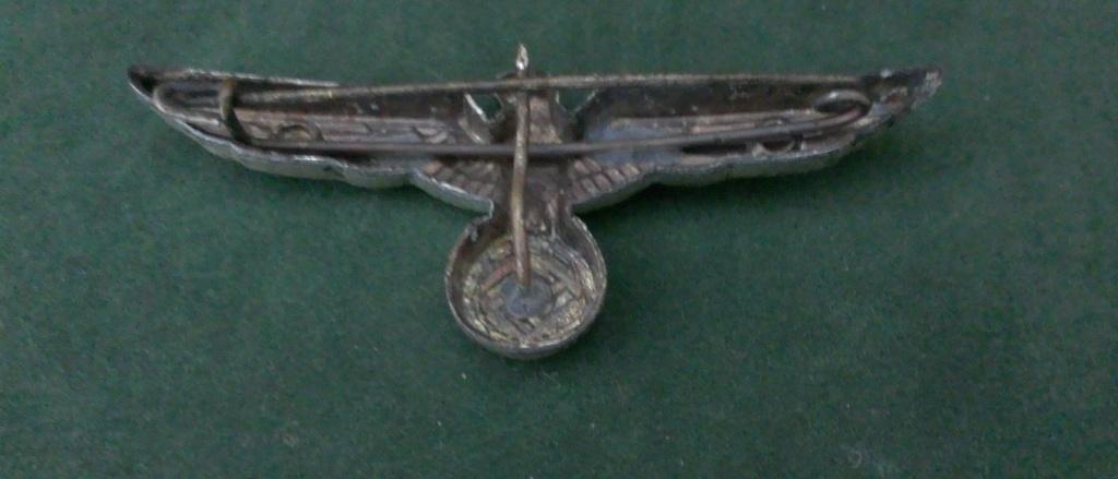 Aigles metalliques et cocardes de casquettes Heer WW2 - Authentification et prix Wp_20141