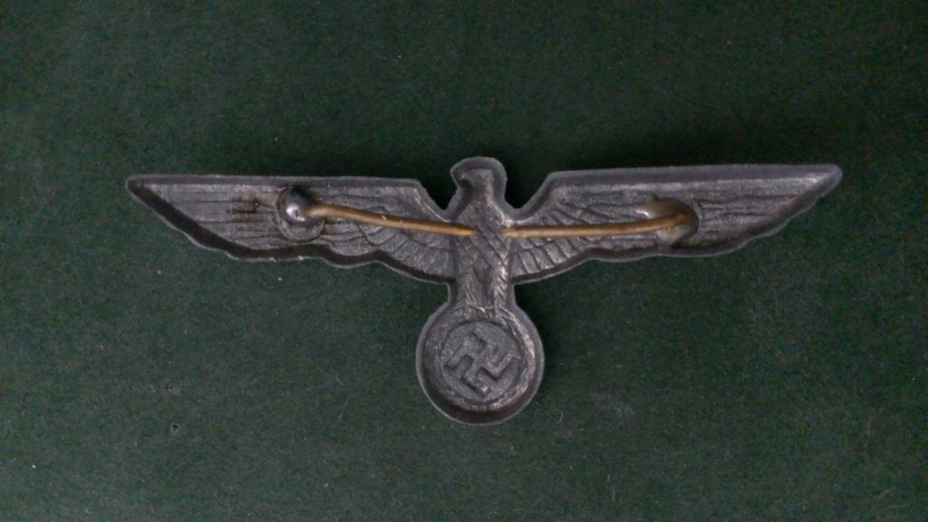 Aigles metalliques et cocardes de casquettes Heer WW2 - Authentification et prix Wp_20147