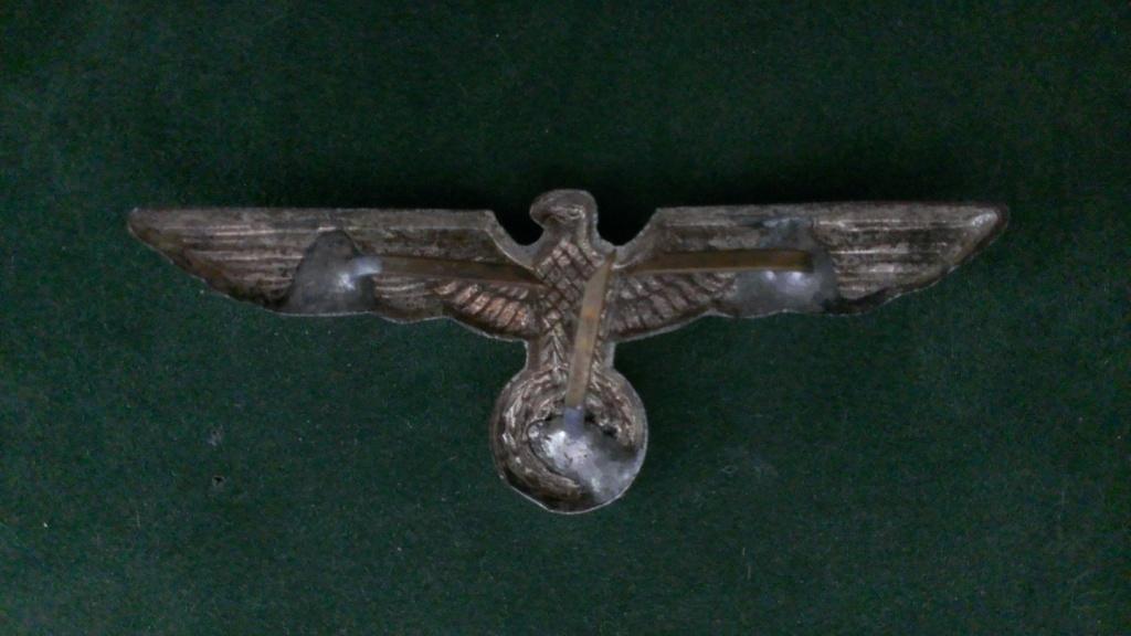 Aigles metalliques et cocardes de casquettes Heer WW2 - Authentification et prix Wp_20149
