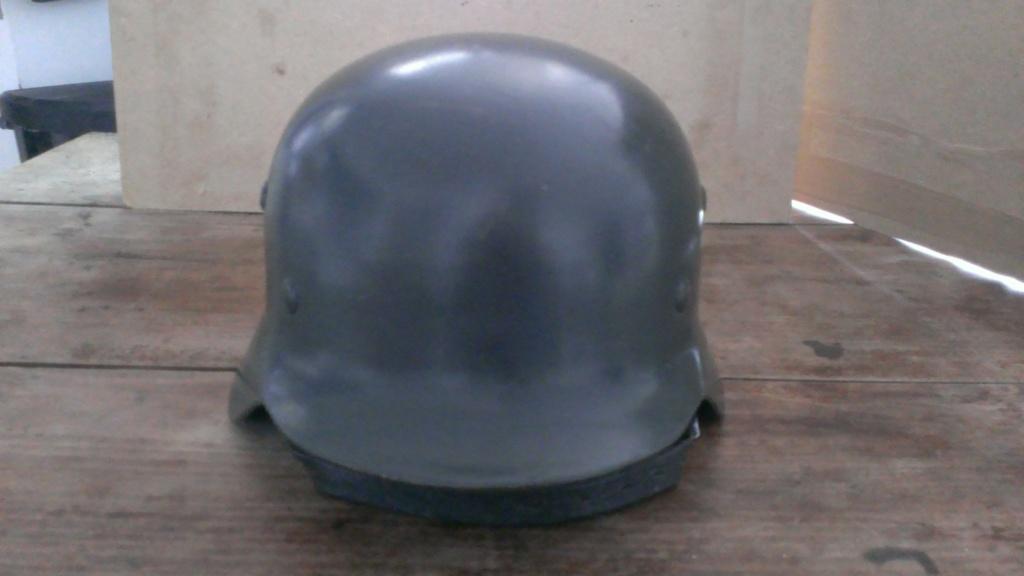 Stahlhelm m35 Luftwaffe - Authentification et estimation Wp_20262