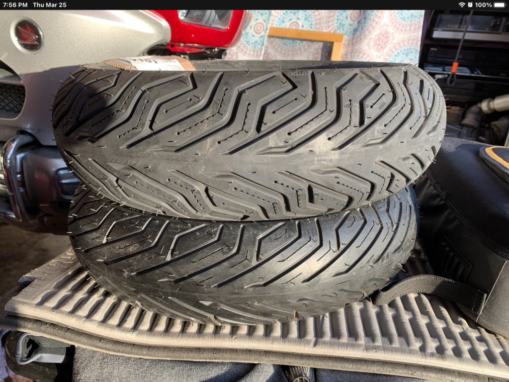 Michelin City Grip new tires made 12 years ago A0434310