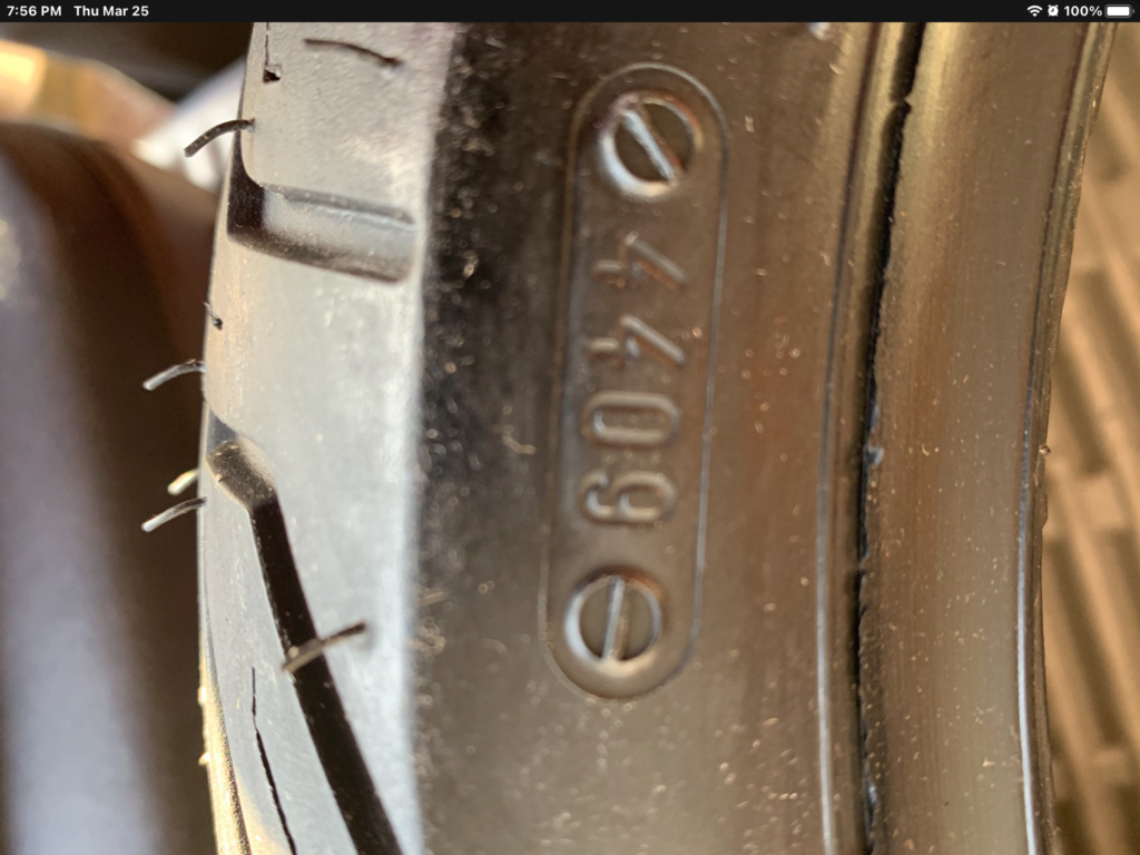 Michelin City Grip new tires made 12 years ago Fd518710