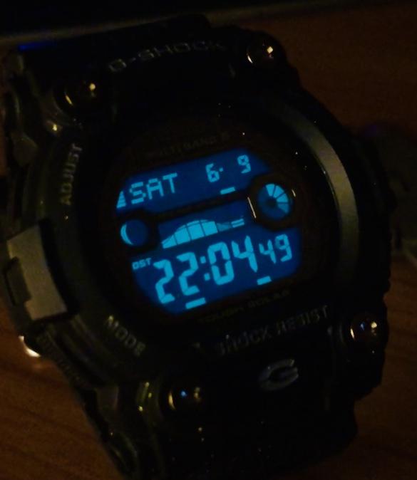 Casio by night Ec601f10