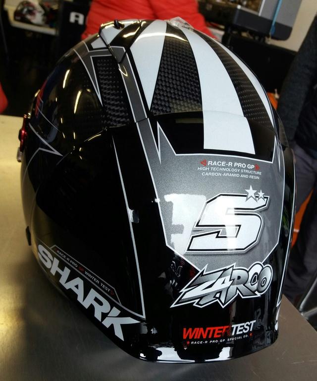 Sortie du SHARK RACE-R PRO GP REPLICA WINTER TEST 20180512