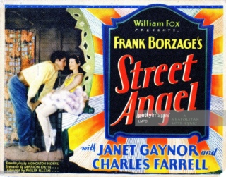 1928 - l'Ange de la rue (Street Angel) - Borzage Affich11