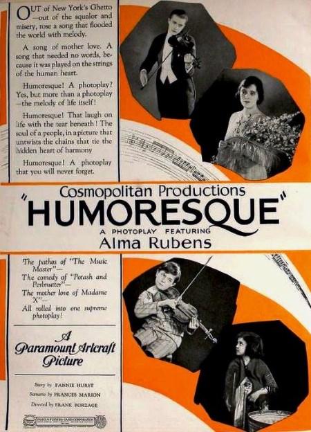 1920 - Humoresque - Borzage Humore10