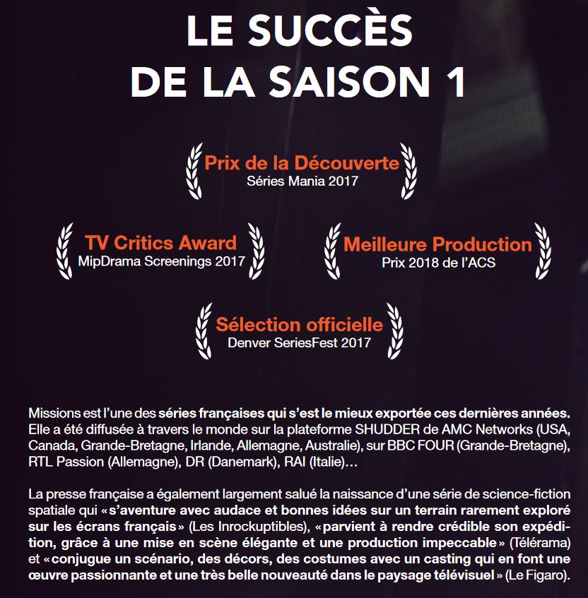 Missions - Serie TV M10