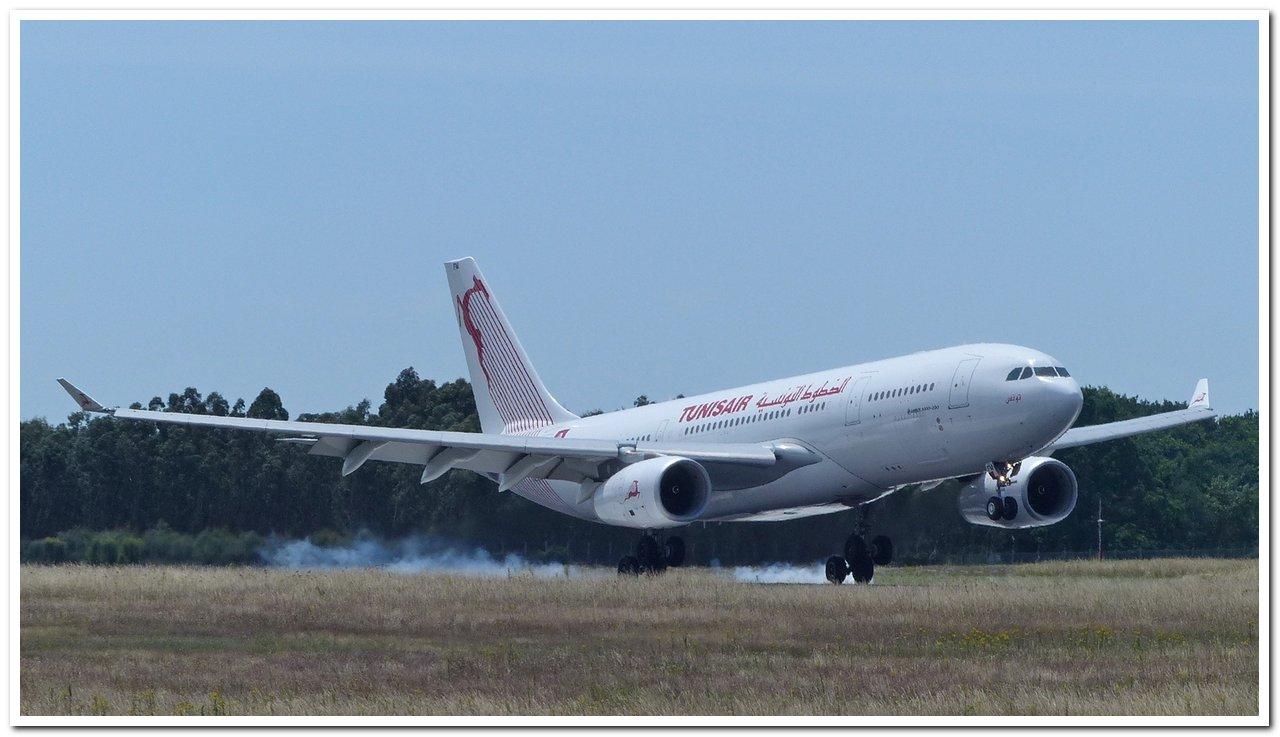[22/06/2018] Airbus A330-200 (TS-IFM) Tunisair !!! A330-210