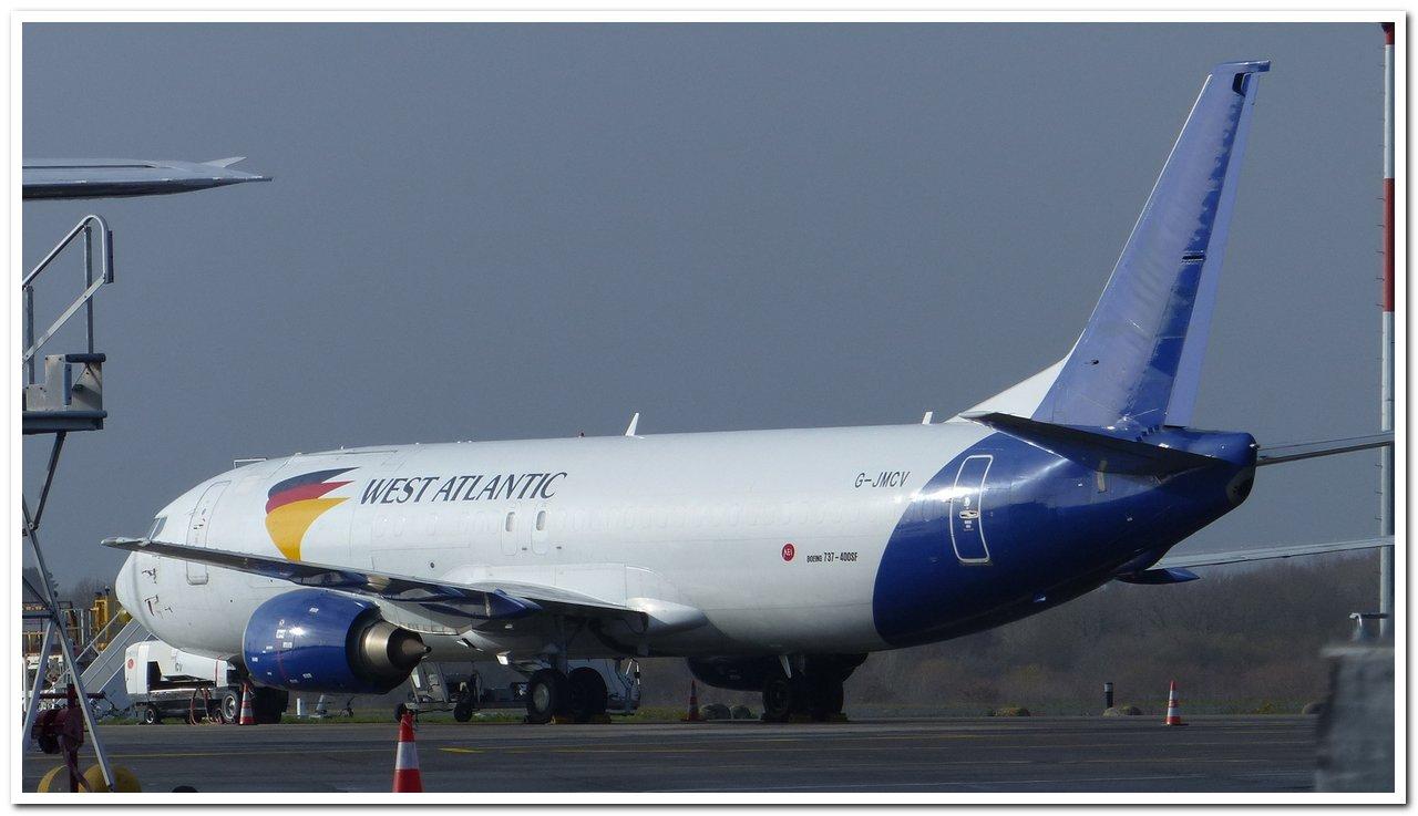[02/11/2018] Boeing 737-300SF (G-JMCZ)  West Atlantic B737-412