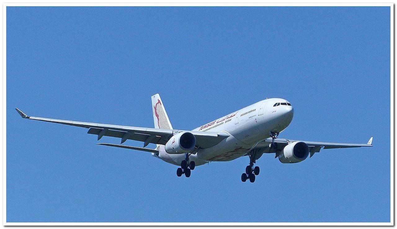 [22/06/2018] Airbus A330-200 (TS-IFM) Tunisair !!! P1250210