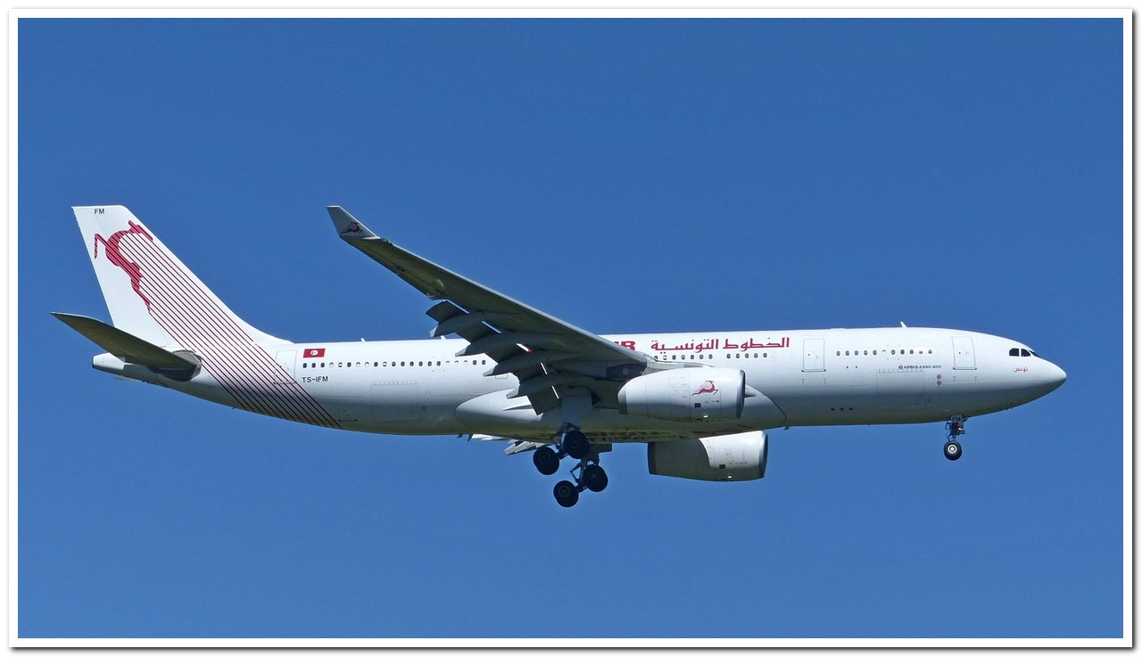 [22/06/2018] Airbus A330-200 (TS-IFM) Tunisair !!! P1250211