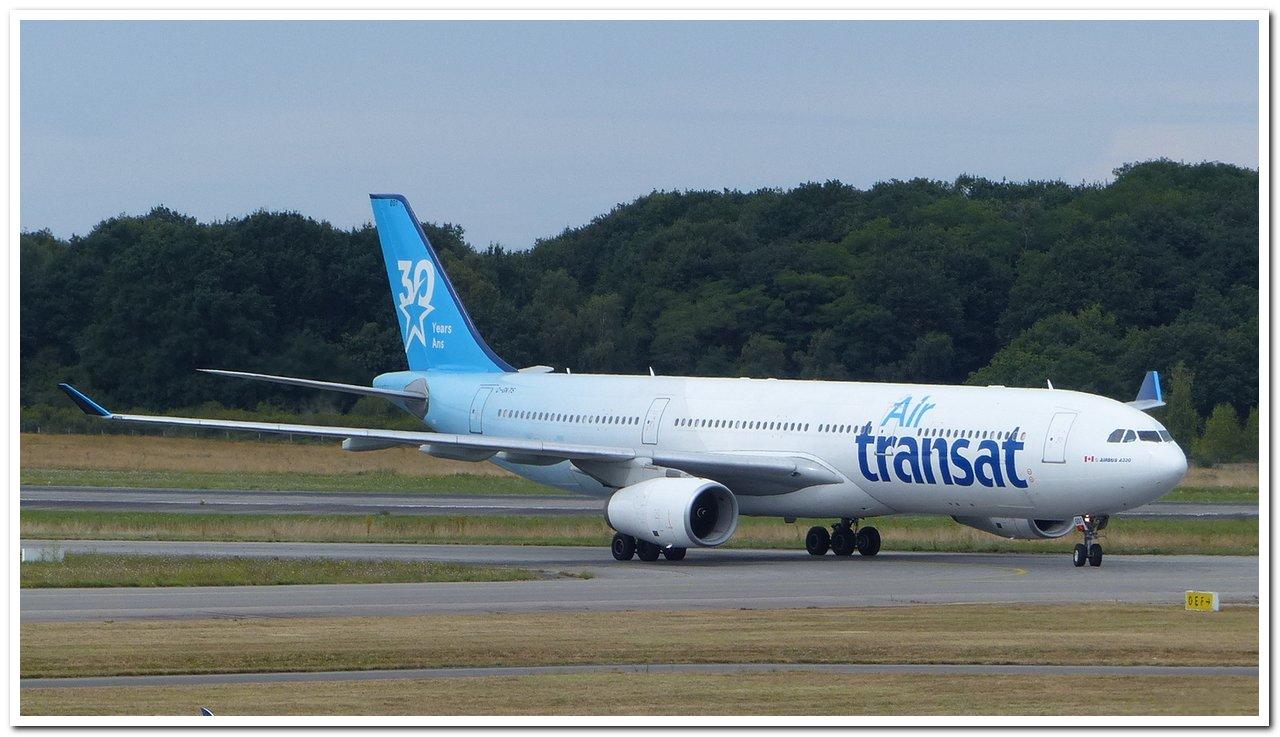 """[07/08/2018] Airbus A330 (C-GKTS] Air Transat livrée """"30ans"""" P1260812"""