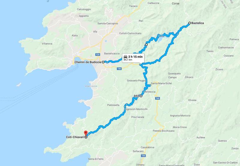 Photos Corse mai 2018 Route10