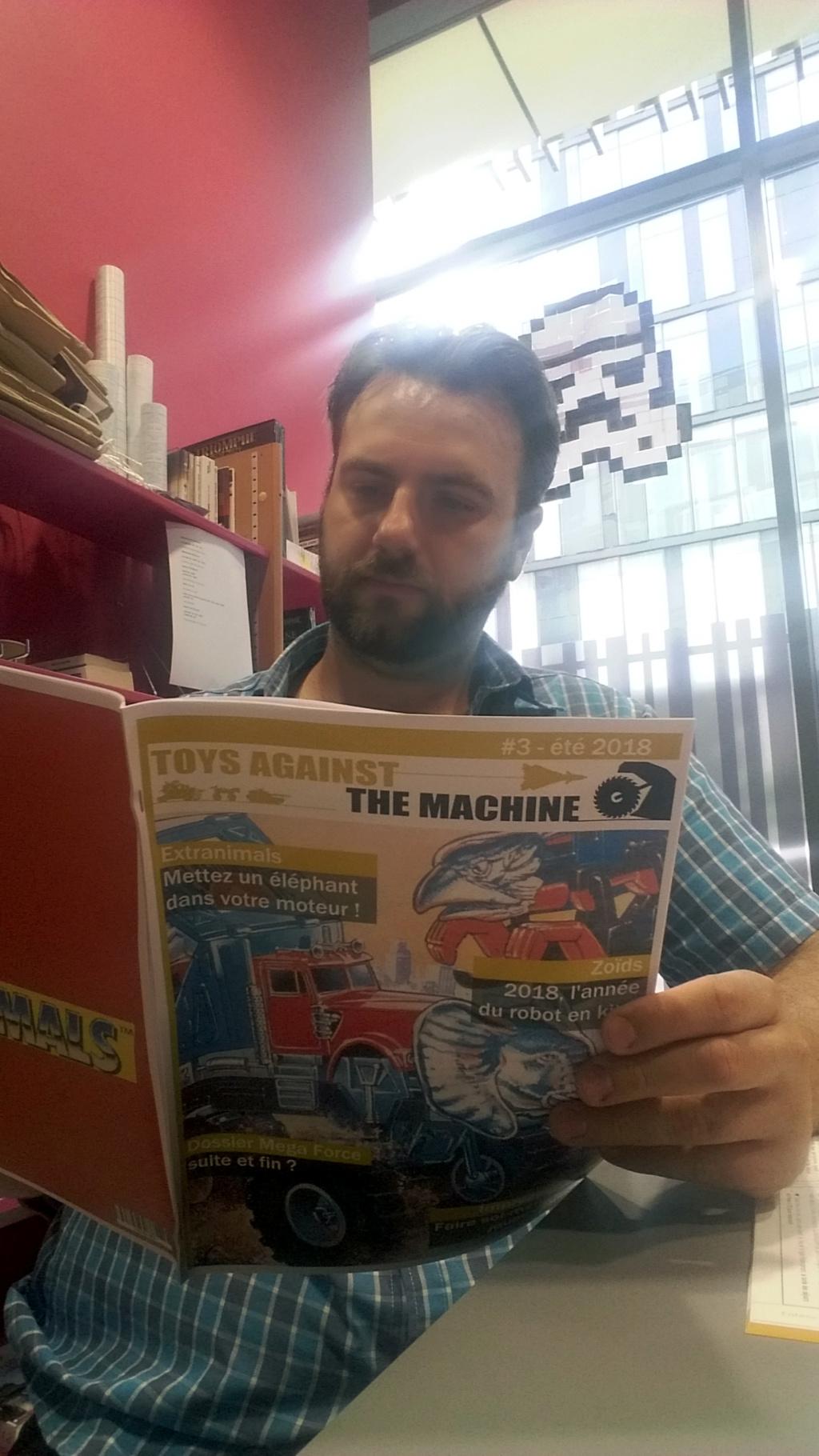 Toys Against The Machine, le fanzine qui parle de trucs dont (presque) tout le monde se fiche 20180820