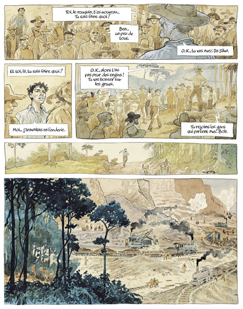 Eldorado, de Damien Cuvillier et Hélène Ferrarini (Futuropolis) Eldora13