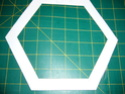 hexagones brodés  P1060514