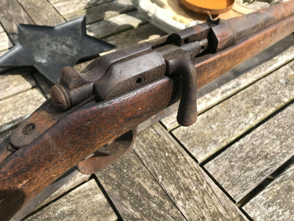 Carabine de cavalerie gras mod. 874 Receiv14