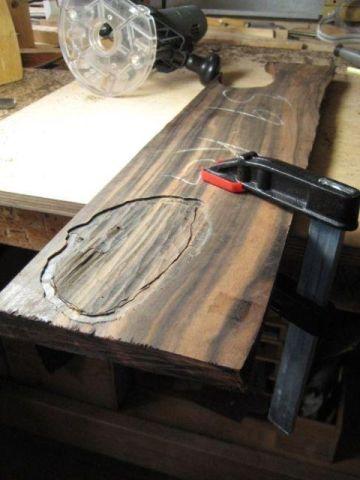 Making a daiza by Sandro Tschudin. 810