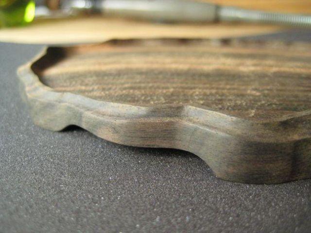 Making a daiza by Sandro Tschudin. R10