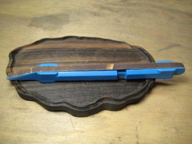 Making a daiza by Sandro Tschudin. V10