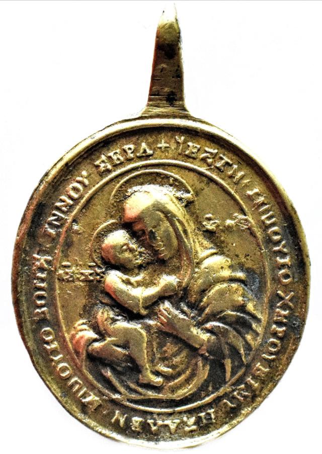 San Onofre /  Madre de Dios Zhirovitskaya, S. XVIII Rag12