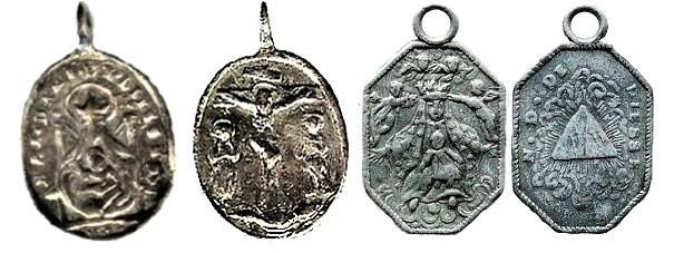 Notre-Dame de Liesse / Crucifixión de Jesús - MR638 (R.M. SXVIII-O410) Sans_t12