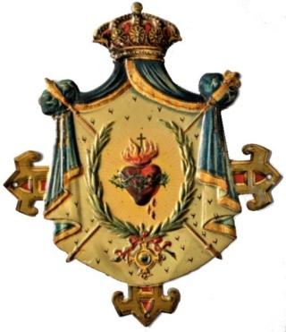 Sagrado Corazón de Jesús reinante, S. XIX Sc10