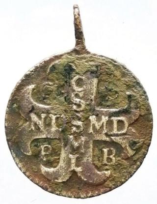 Medallas de S Benito St_be101