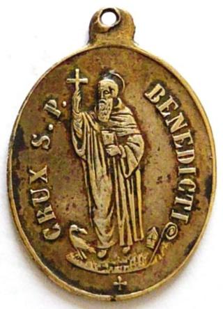 Medallas de S Benito St_be108