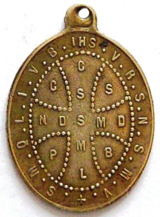 Medallas de S Benito St_be109