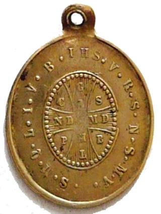 Medallas de S Benito St_be110